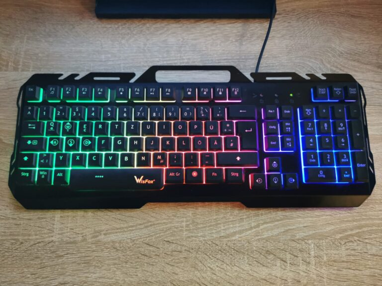WisFox Gaming Tastatur – Test