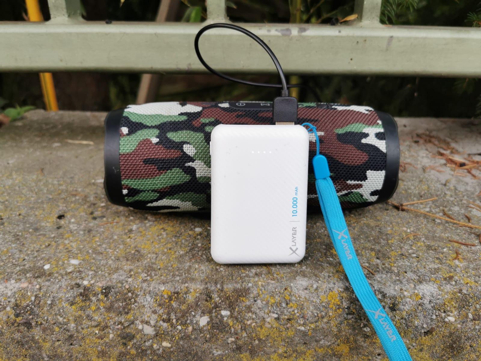 XLAYER Powerbank Micro Carbon White 10000mAh
